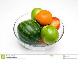 mixing fruit